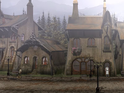 Syberia Village Screenshot