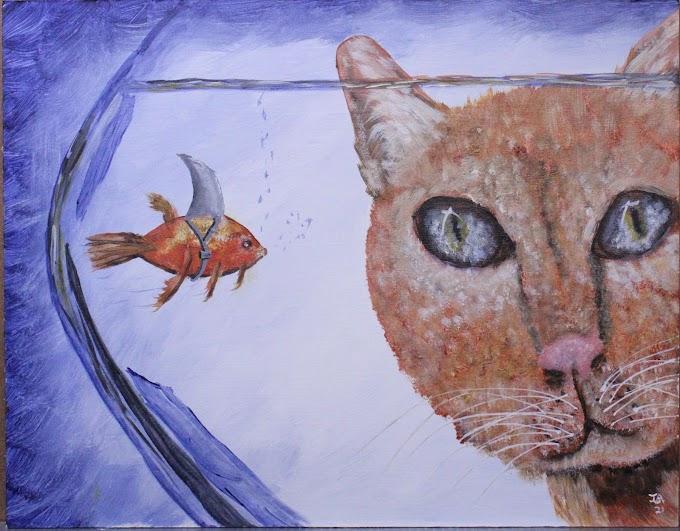 No goldfish here