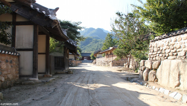Aldea coreana tradicional para Kdramas