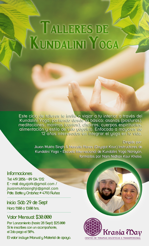 Comenzamos al fin nuestros primeros talleres de Kundalini Yoga f7f0efc2b6a7