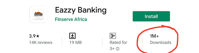 Eazzy banking app