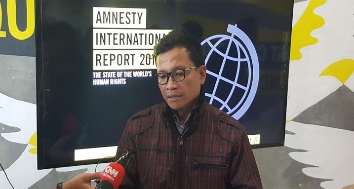Amnesty Internasional: Demokrasi Indonesia Alami Kemunduran, Represi Tiada Henti hingga Kemunculan Para Buzzer Bayaran