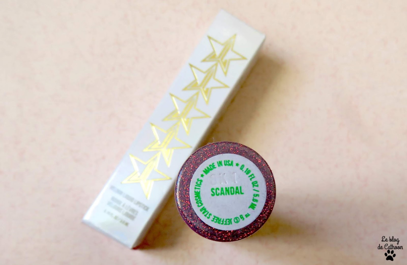 Velour Liquid Lipstick - Scandal - Jeffree Star Cosmetics