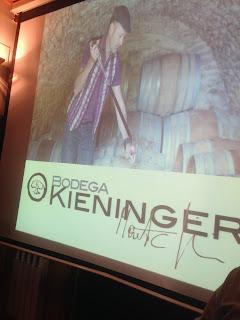 Vinos rondeños de Kieninger. Con acidez y muy varietales