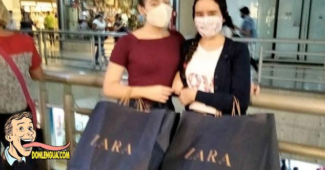 Muertos de Hambre llenaron ZARA del Sambil para comprar ropa en el Black Friday
