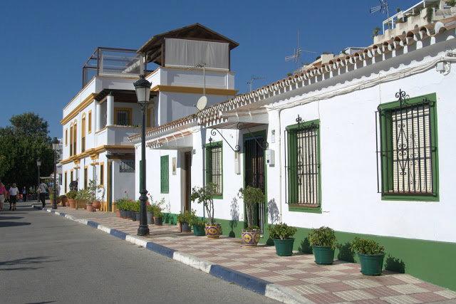 Marbella leżąca w prowincji Malaga