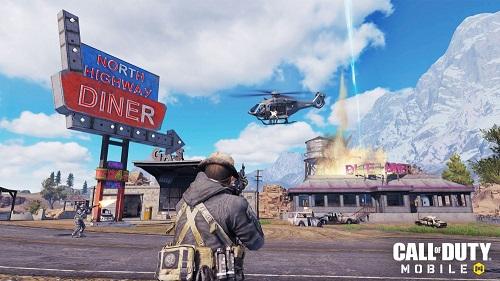 Call of Duty mobile có cách thức đấu riêng có tên Battle Royale