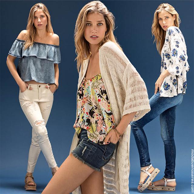 Moda primavera verano 2018. Looks de moda para mujer. Moda urbana y femenina primavera verano 2018. | Moda 2018.
