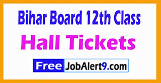 Bihar (BSEB) 12th Class 2018 Hall Tickets / Roll Number Downlaod