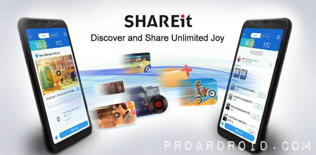 SHAREit: File Transfer,Sharing
