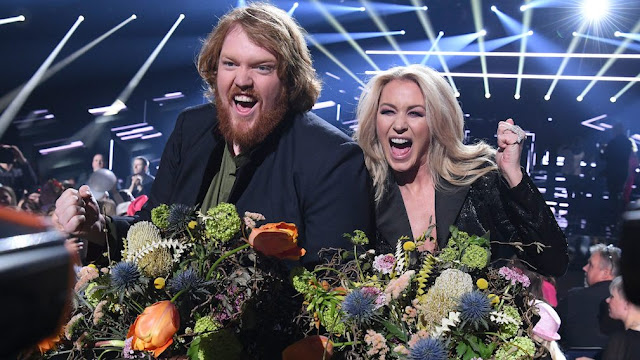 Martin Almgren y Jessica Andersson