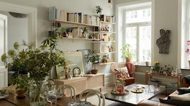 Decoración vintage en un apartamento de hoy