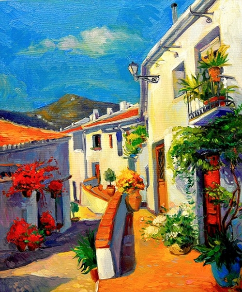 08-Ivailo Nikolovhas-Bright-Paintings-Modern-Impressionism-www-designstack-co