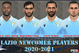 SS Lazio Newcomer Players Facepack - PES 2017