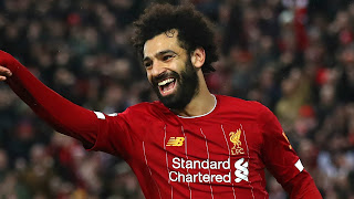 Salah reacts to Liverpool POTM award