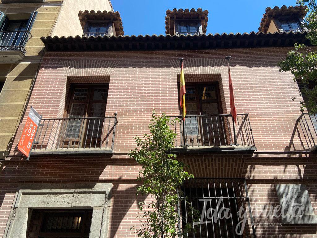 Casa Museo Lope de Vega fachada