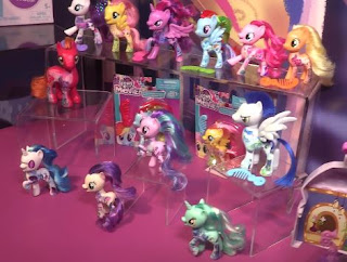 MLP All About Brushables during New York Toy Fair 2017