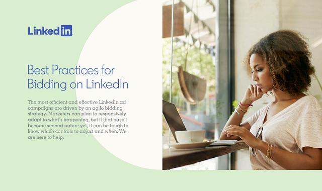 Bidding on LinkedIn – A guide