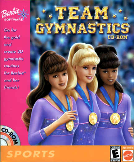 Barbie Team Gymnastics for Windows (2001) - MobyGames