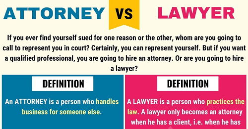 Who Is Attorney In Law