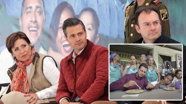 """La """"Cruzada contra el Hambre"""" de EPN sólo sirvió para que se robaran miles de MILLONES DE PESOS"""