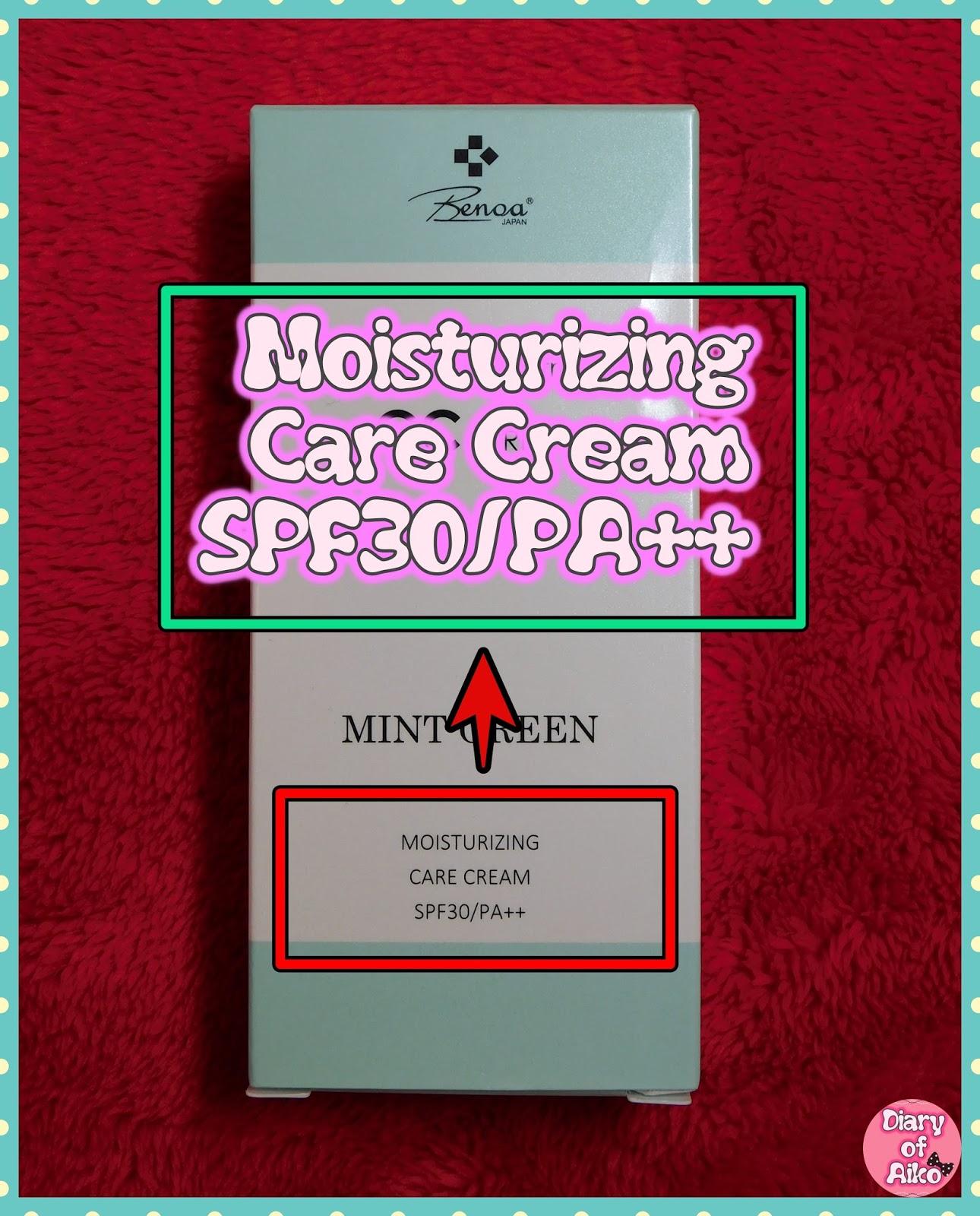 Review benoa japan cc cream mint green back of the box stopboris Choice Image