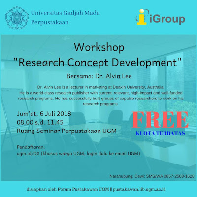 http://lib.ugm.ac.id/ind/?event=workshop-research-concept-development