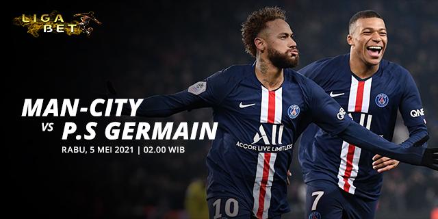 PREDIKSI PARLAY MANCHESTER CITY VS PARIS SAINT GERMAIN