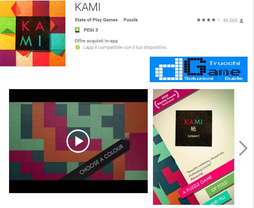 Soluzioni KAMI 2 Pagina 4 livello 21 22 23 24 25 26 27 28 29 30 | Trucchi e Walkthrough level