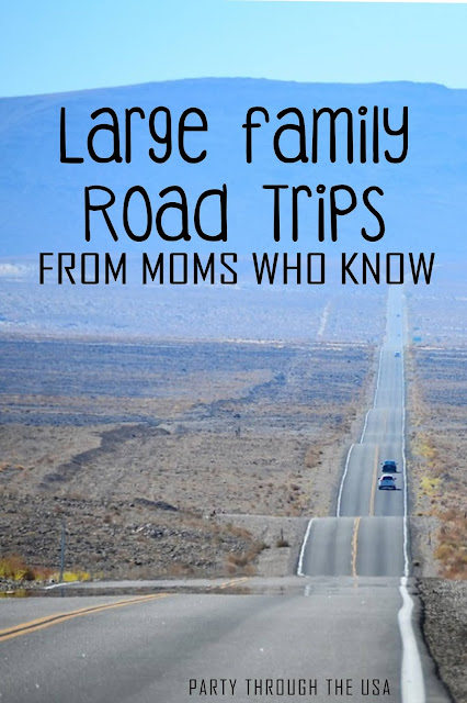 Learn the best travel advice from other large family moms and make your next vacation smooth and fun!