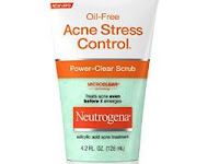 Neutrogena Oil Free Acne Stress Control Power-Clear Scrub