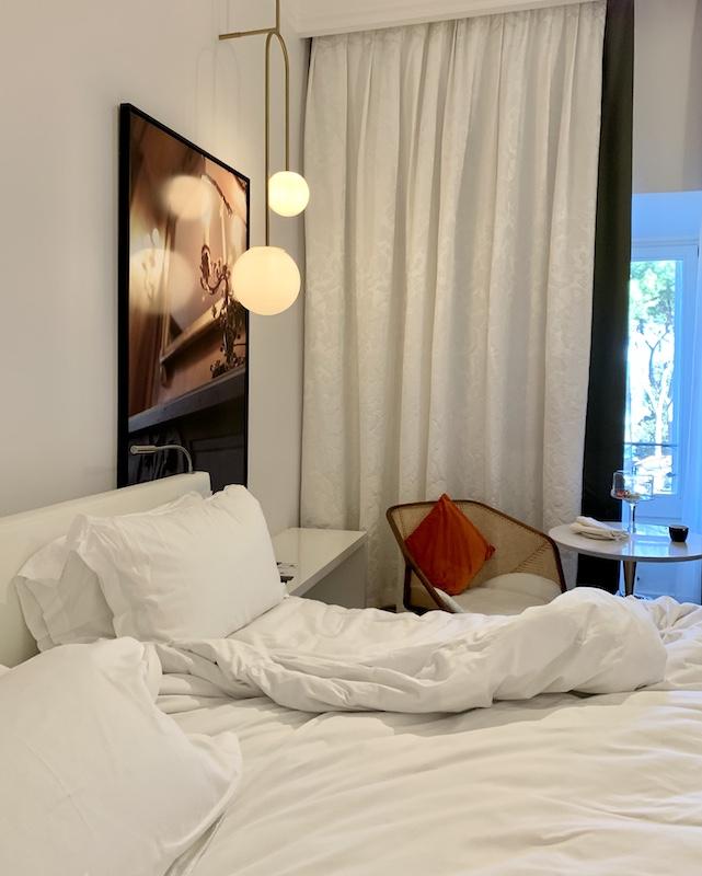 Room in the Hotel Sofitel Villa Borghese Rome-Gillian Longworth McGuire