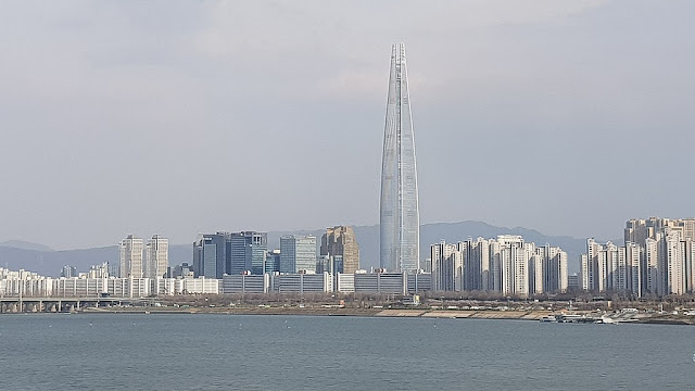 Lotte World Tower in South Korea