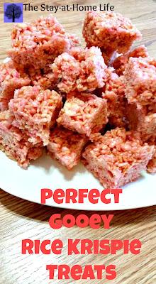 gooey rice krispie treats recipe, rice krispie treats, best ever rice krispie treats