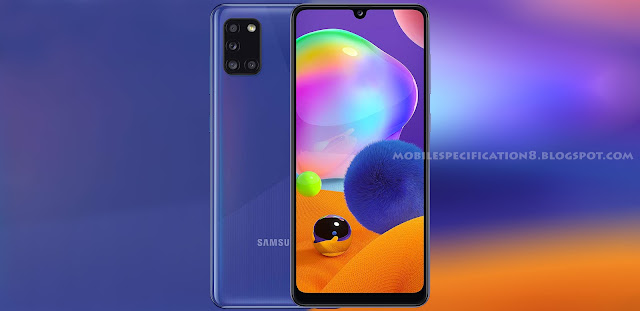 Samsung Galaxy A31, Galaxy A31, Samsung A31, Mobile, Phone, Price in Nigeria, Specifications, Specification, Specs, Features, Colours, Colors, Prism crush blue