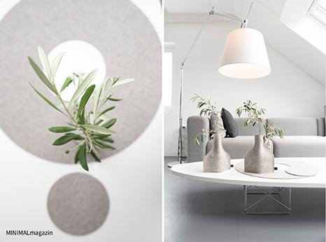 Natürliche und nachhaltige Dekoration mit Olivenzweigen