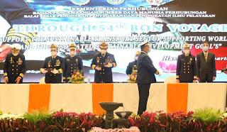 BP3IP Jakarta Kukuhkan Master pada 36 Pelaut Perwira