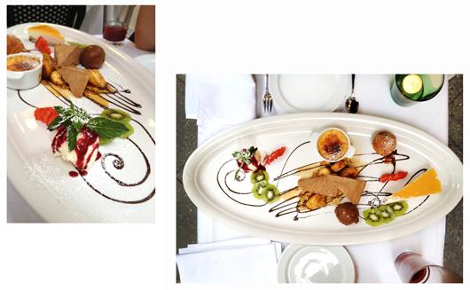 Perfektes Dessert im Lubitsch in Charlottenburg