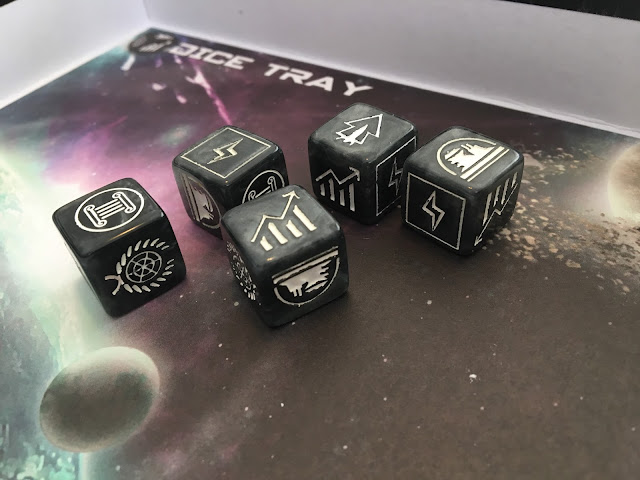 Tiny Epic Galaxies Beyond the Black Expansion Dice Tray Photo by Benjamin Kocher