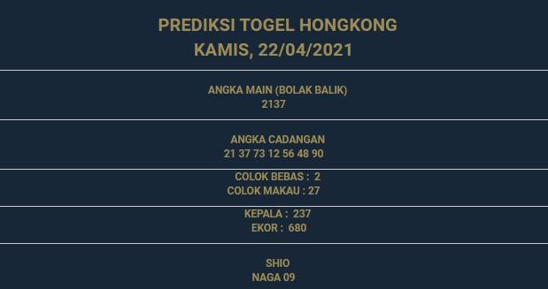 3 - PREDIKSI HONGKONG 22 APRIL 2021