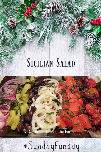 Sicilian Salad pin