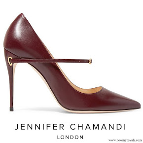 Princess Iman wore JENNIFER CHAMANDI Lorenzo leather pumps