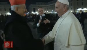 Image result for Photo Cardinal Castrillon Hoyos with Pope Francis