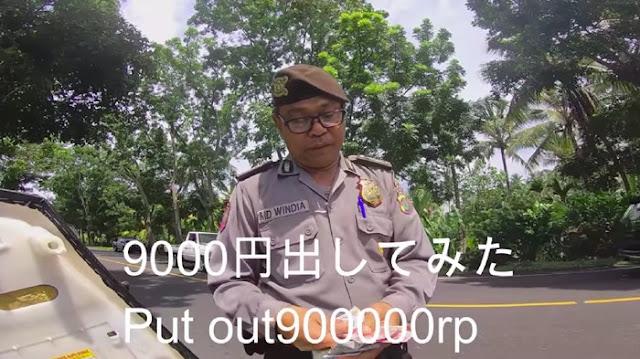 Oknum Polisi di Bali yang Palak Bule Rp1 Juta Dimutasi