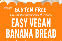 Gluten free Easy Vegan Banana Bread #glutenfree