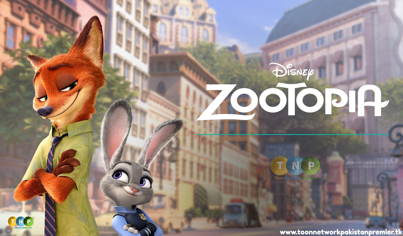 Disney Zootopia Full Movie [Urdu, Hindi - English] (Dual Audio) 1080p Full HD - Toon Network Pakistan