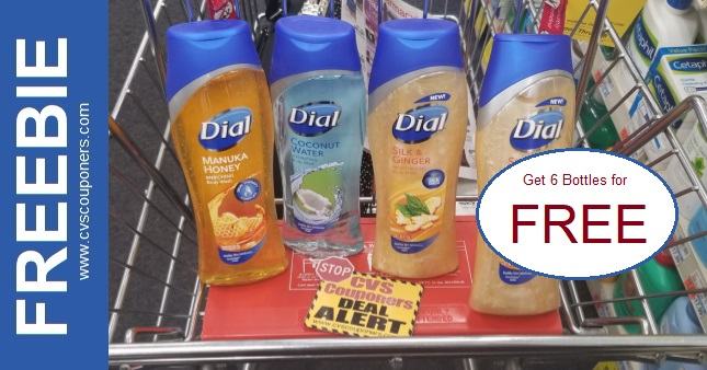 FREE Dial Body Wash CVS Deal 8-9-8-15