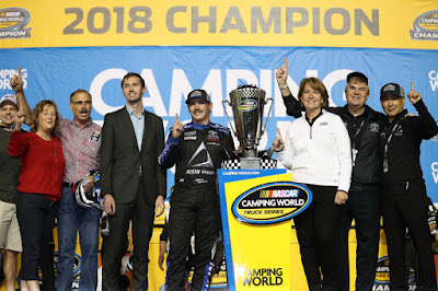 #NCWTS - Brett Moffitt Cruises to First Truck Series Title At Homestead