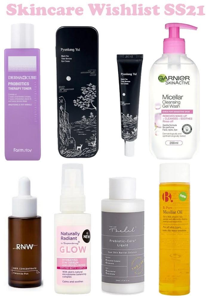 Skincare Wishlist SS21