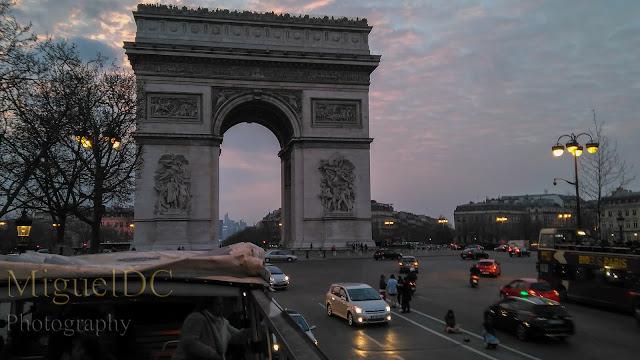 visita Arco del triunfo